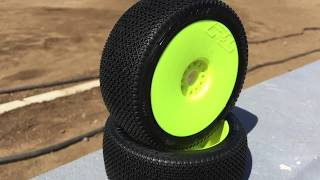 Adam Drake from Mugen Seiki Racing talks about the Pro-Line Slide Lock buggy tire.