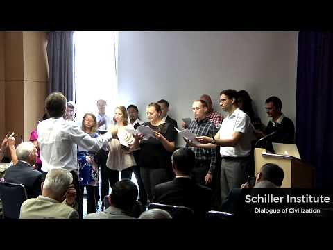 """Mo Li Hua / 茉莉花"" (Jasmine Flower) - Schiller Institute Chorus Berlin"