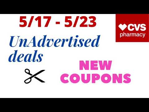 CVS UNADVERTISED DEALS + NEW COUPONS to PRINT – 5/17/2020