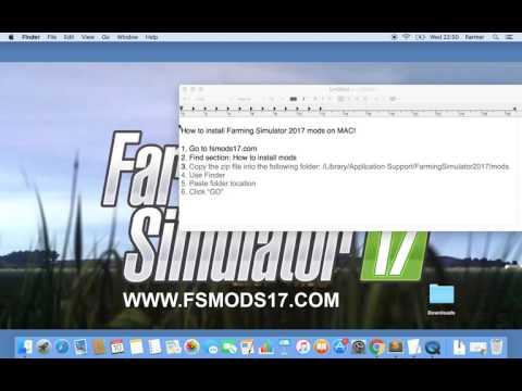 How to install Farming Simulator 2017 Mods on Mac
