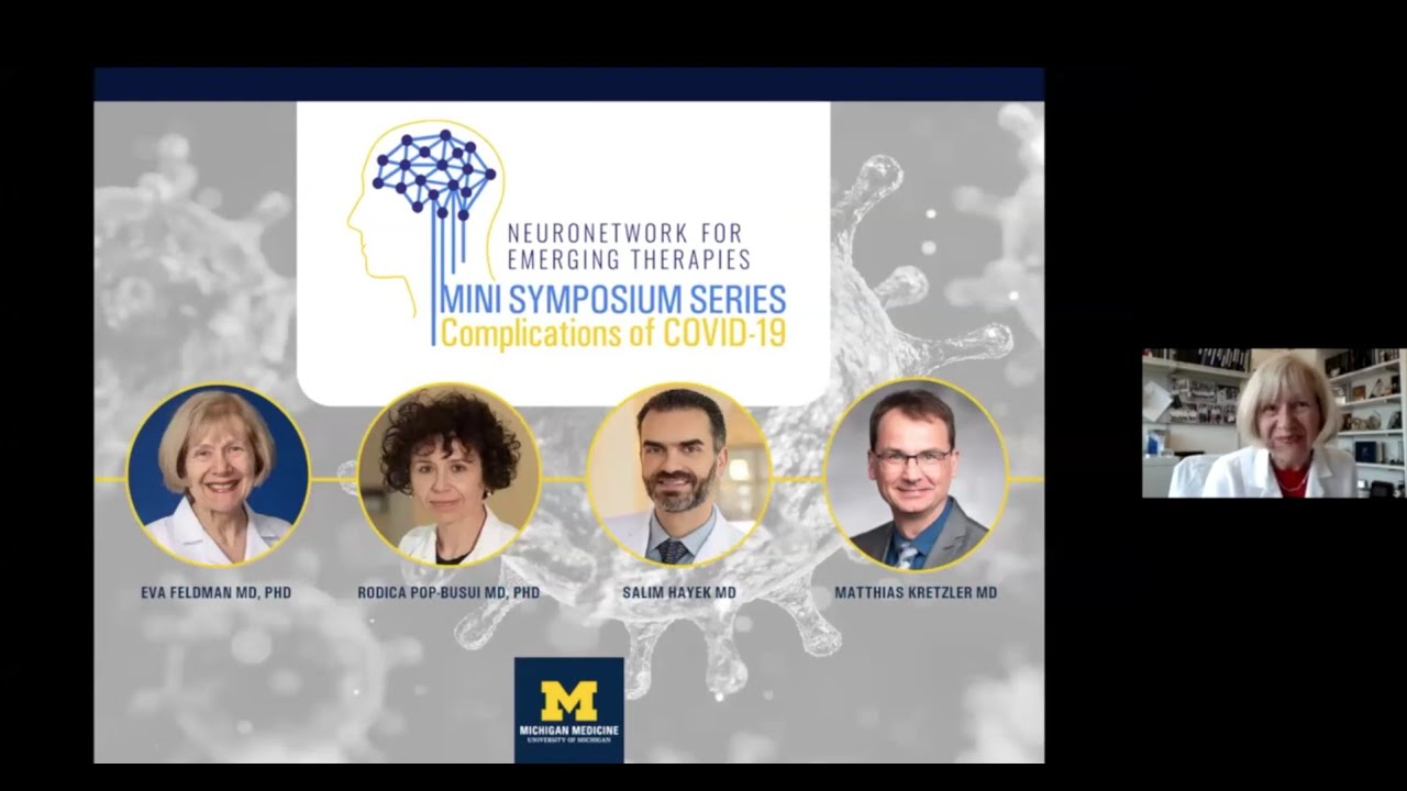 NeuroNetwork for Emerging Therapies Mini Symposium: Complications of COVID-19