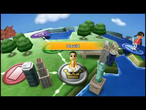 Mii Friends: Wii Party Globe Trot