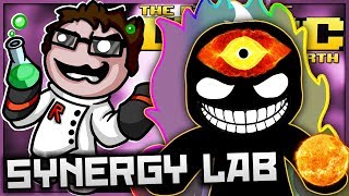 The Binding of Isaac: Afterbirth+ - Synergy Lab: VOID EYE DISINTEGRATION FLASH GRENADES! (Swarm Fun)