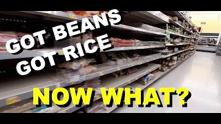 You GOT BEANS Y๐u GOT RICE NOW WHAT? How to Store What You Have Bought