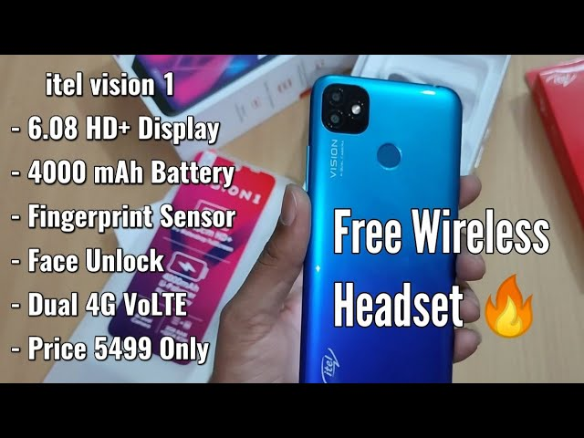 Itel Vision 1 Unboxing And Camera Overview Youtube
