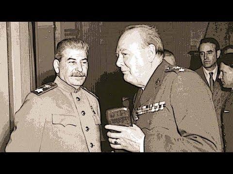 За что Сталин ненавидел Черчилля