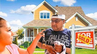 I_BOUGHT_MY_DAD_A_$1,000,000_HOUSE!!!_*EMOTIONAL*