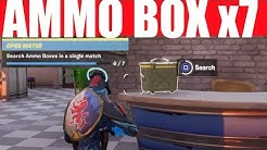 Search Ammo Boxes in A Single Match - Fortnite Chapter 2 Ammo Box Locations! Open Water (7)
