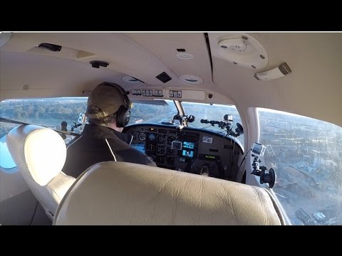 Piper Archer III  GoPro cameras,  Connecticut - New York . with Audio