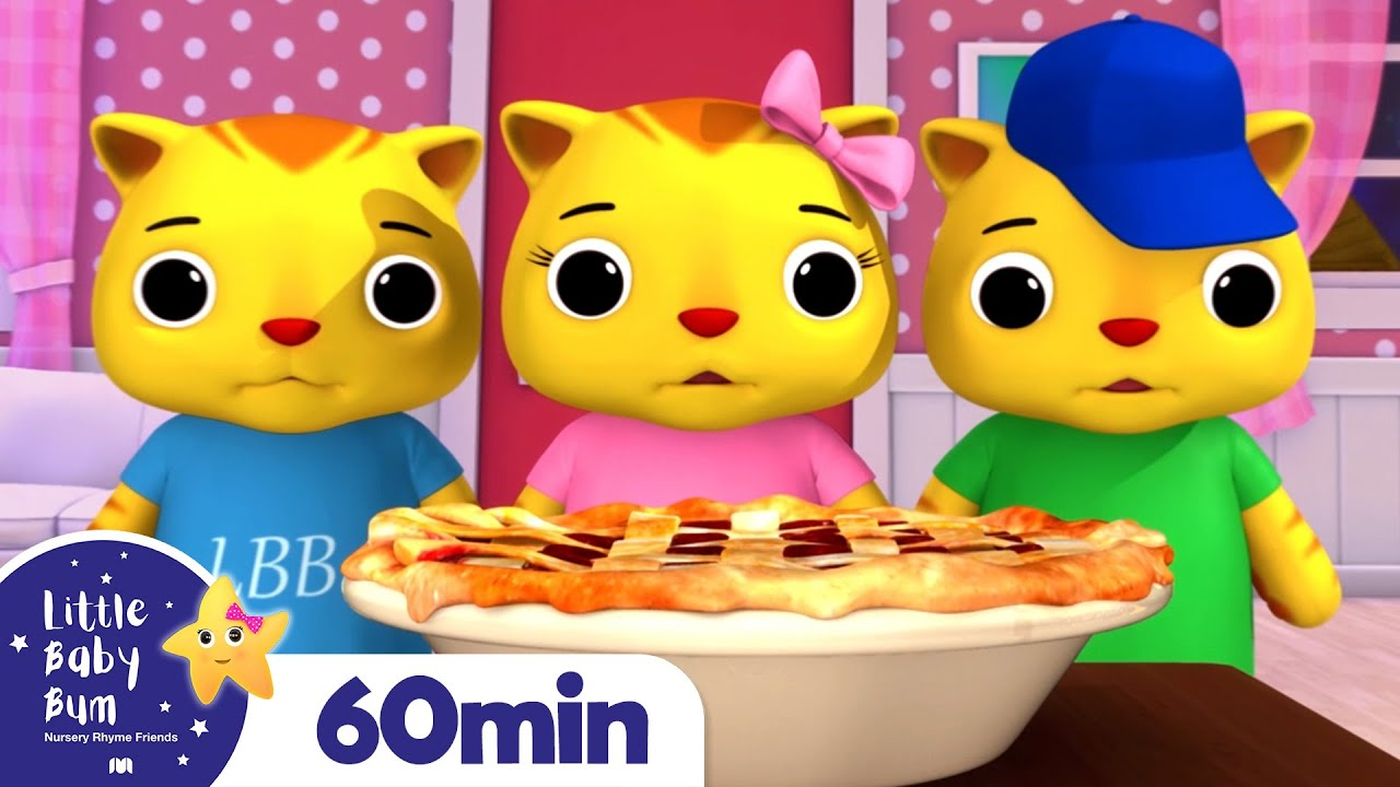Three Little Kittens +More Nursery Rhymes and Kids Songs | Little Baby Bum