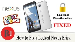 How to Fix a Bootloader Locked Nexus device stuck in a bootloop / brick