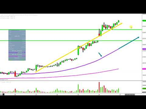 Advanced Micro Devices, Inc. - AMD Stock Chart Technical Analysis for 08-24-18