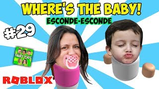Roblox - ESCONDE-ESCONDE DE BEB-S! (ROBLOX ¿Dónde está el bebé!) Obras de teatro en familia