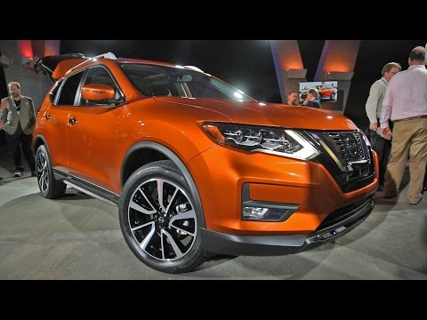 2017 Nissan Rogue First Look - 2016 Miami Auto Show