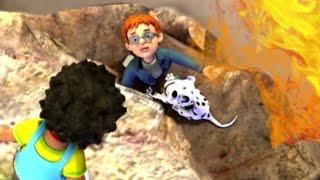 Sam el Bombero Español ⭐️Norman en el acantilado de la fogata!   Nuevo episodio   Dibujos animados