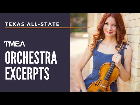 All-State Texas 2016-17 TMEA Orchestra Excerpts - Chloé Trevor