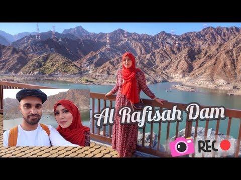 UAE vlogs: Al Rafisah / Rufaysah Dam & Beach, *SCENIC* Khorfakkan, Fujairah - منتجع الرفيصة
