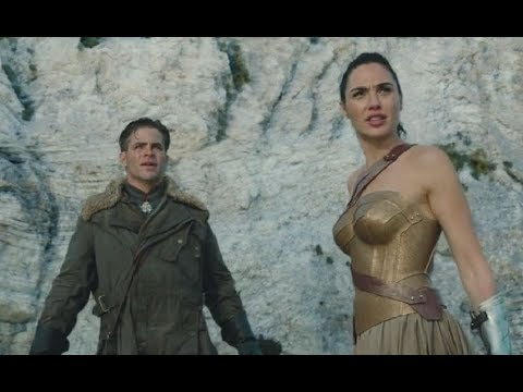 wonder woman | 2017 | 1st action scenes || movies action