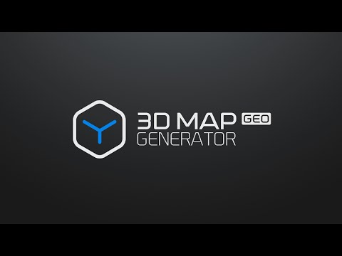 3D Map Generator - GEO - Photoshop Plugin