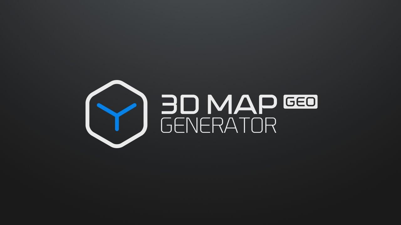 3D Map Generator - GEO - Photoshop Plugin
