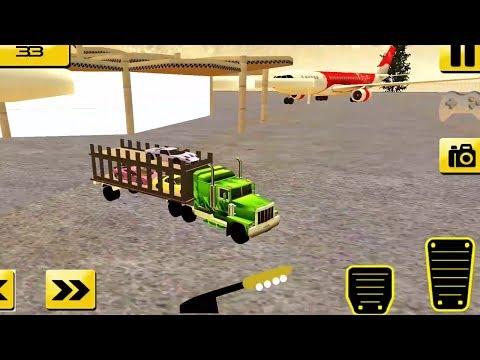Heavy Truck Cargo Plane Simulator 2017 - Android GamePlay