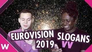 Eurovision 2019 slogan and logo suggestions | Tel Aviv