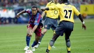 Champions Final 2006 I Highlights FC Barcelona - Arsenal (2-1)