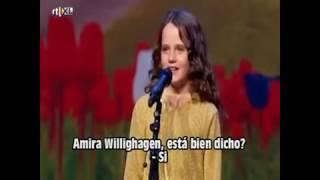 Niña sorprende cantando opera.... Conmovedor