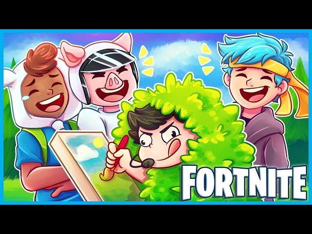 WINNING A GAME WHILE PAINTING in Fortnite: Battle Royale! (Fortnite Funny Moments & Fails)
