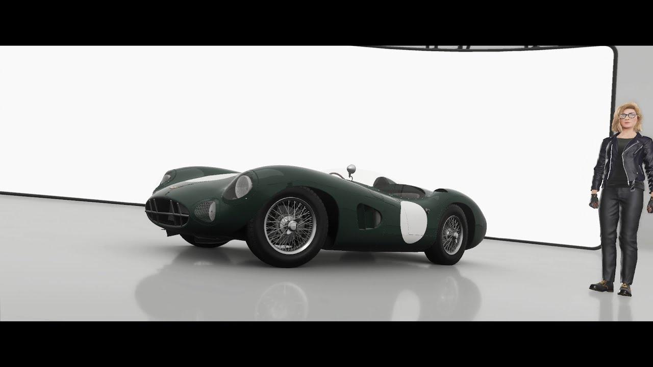 Aston Martin Dbr1 58 Test Drive Forza Horizon 4 1080p60fps Youtube