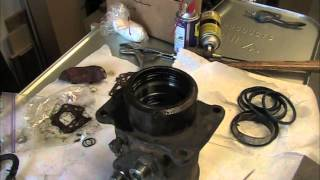 Hitachi Deere Excavator Center Joint / Rotary Manifold Rebuild