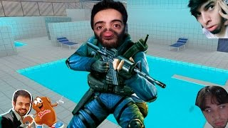 Counter Strike - Poolday dos HACKERS!