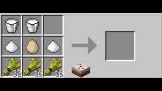 как сделать еду в minecraft