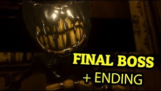 Скачать BENDY AND THE INK MACHINE CHAPTER 5 FINAL BOSS ENDING