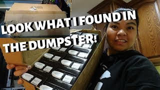 BUHAY AMERIKA: DUMPSTER DIVING MYSTERY BOXES!!:D