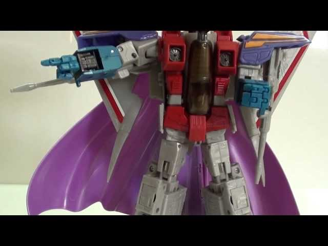 Review de Transformers Starscream Masterpiece Mp 11 Asia Edition por javitron en Español Videos De Viajes