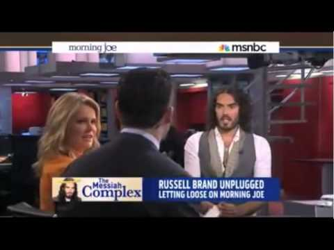 Russell Brand Destroys MSNBC Talk Show Host   Discusses Bradley Manning And Edward Snowden