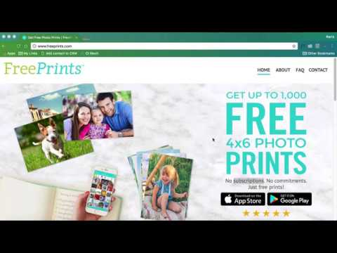 freeprints photo app review youtube