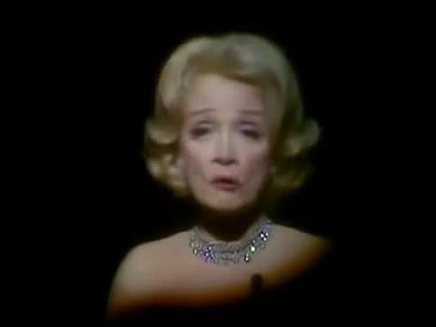 Marlene Dietrich - Where have all the flowers gone (subtitulos en español)