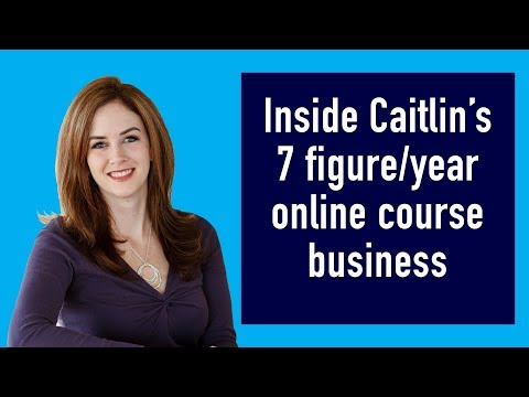7 figure business selling courses online from home