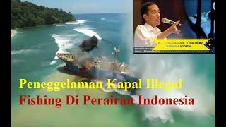 vuclip Peneggelaman Kapal Illegal Fishing Di Perairan Indonesia