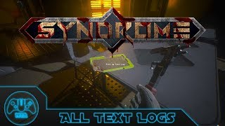 "Syndrome [PC] - All Text Logs - ""Requested Guide"""