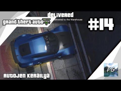 GTA Online pelailua #14 (Autojen keräilyä)