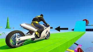 MOTO SUPER RARA!! WTF? - CARRERA GTA V ONLINE - GTA 5 ONLINE
