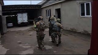 Видео задержания членов организации, финансировавшей сирийских боевиков
