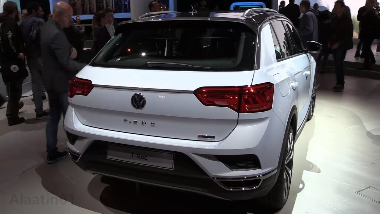 2018 volkswagen t roc details exterior interior rival for the x1 q2 or the gla youtube. Black Bedroom Furniture Sets. Home Design Ideas