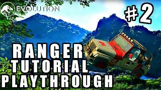 RANGER STATION DRIVING! INCUBATION TECHNIQUES! [EARLY GAME] (Jurassic World Evolution)