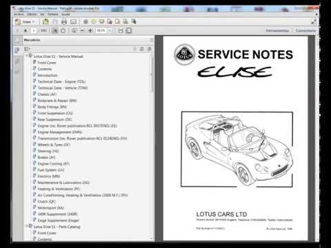 lotus elise s1 service manual spare parts catalogue youtube rh youtube com lotus elise s1 service manual Track Spec Lotus Exige S1