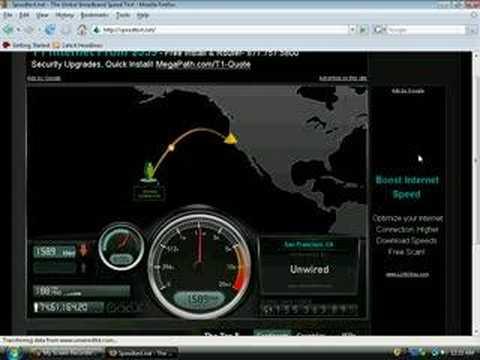 (Hawaii) Clearwire Speed Test