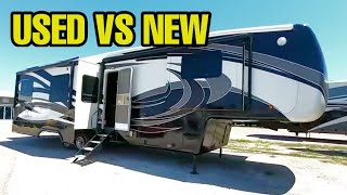 Buying an Fifth Wheel RV! High End Used or Mid Level new?